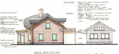 our cob house \u2013 mud and woodMobile Wooden House Drawing #18