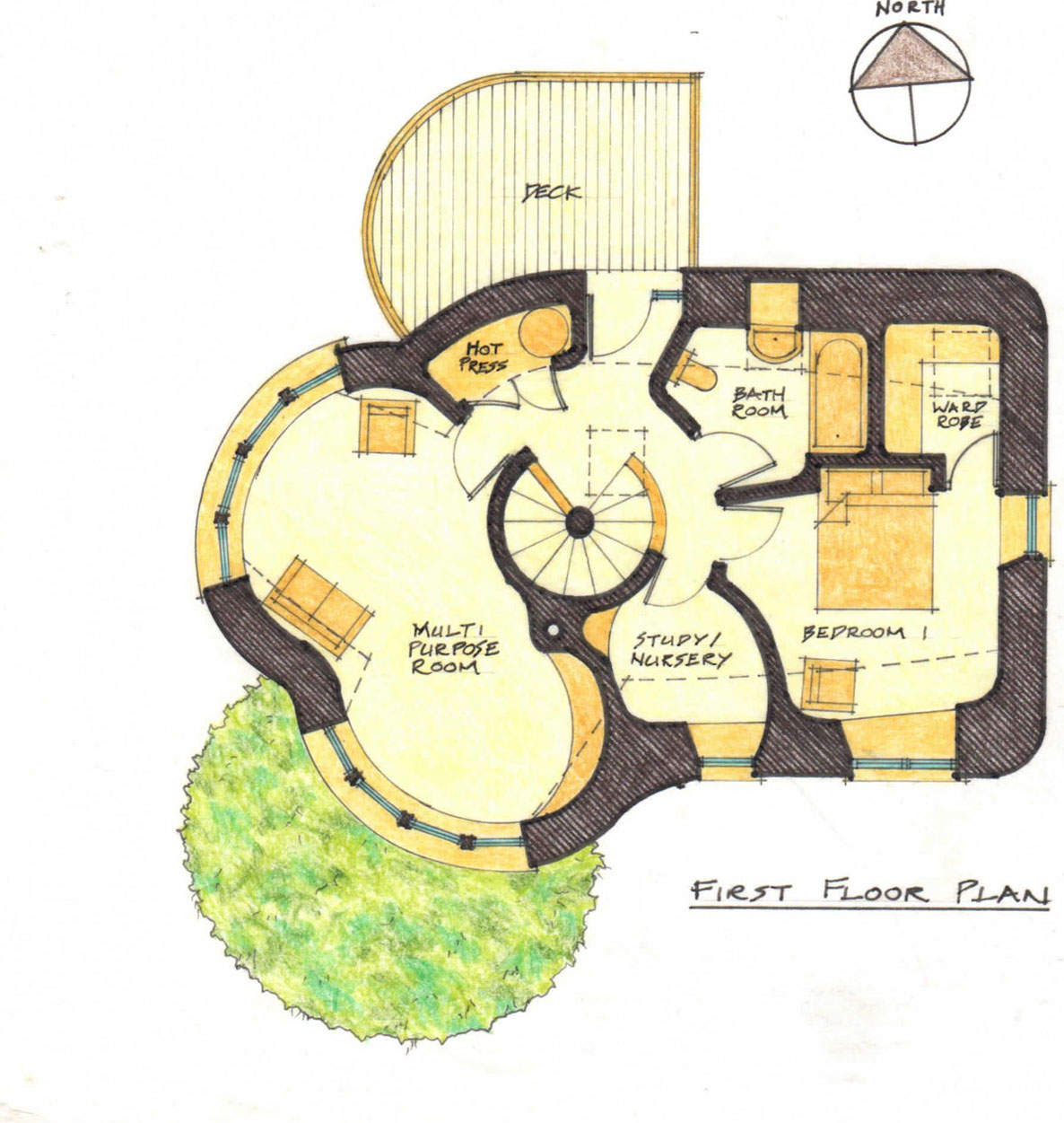 Sick cob house plans off grid pinterest floor for Floor framing plan